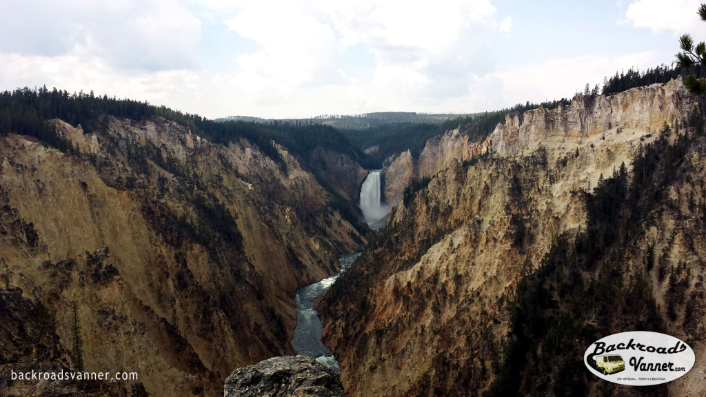Grand Canyon of The Yellowstone | Yellowstone National Park | Photo By BackroadsVanner.com