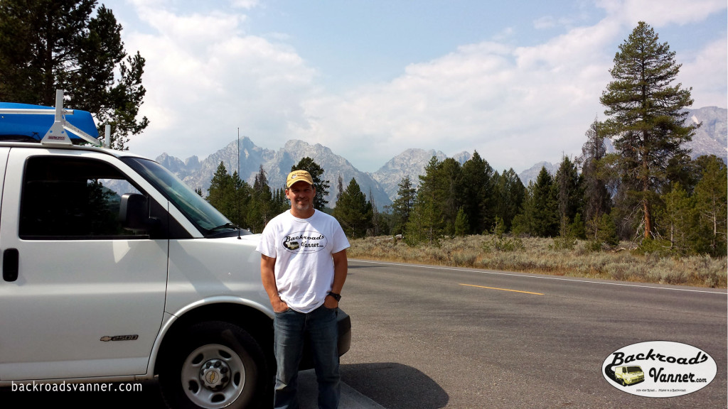 Mike in Grand Teton National Park | Photo by BackroadsVanner.com