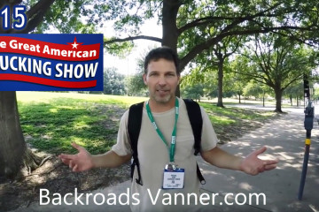 Backroads Vanner Showing You Some Amazing Big Rigs at The 2015 Great American Trucking Show | Photo by BackroadsVanner.com