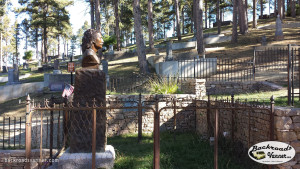 Wild Bill Hickok's Grave Site | Photo by BackroadsVanner.com