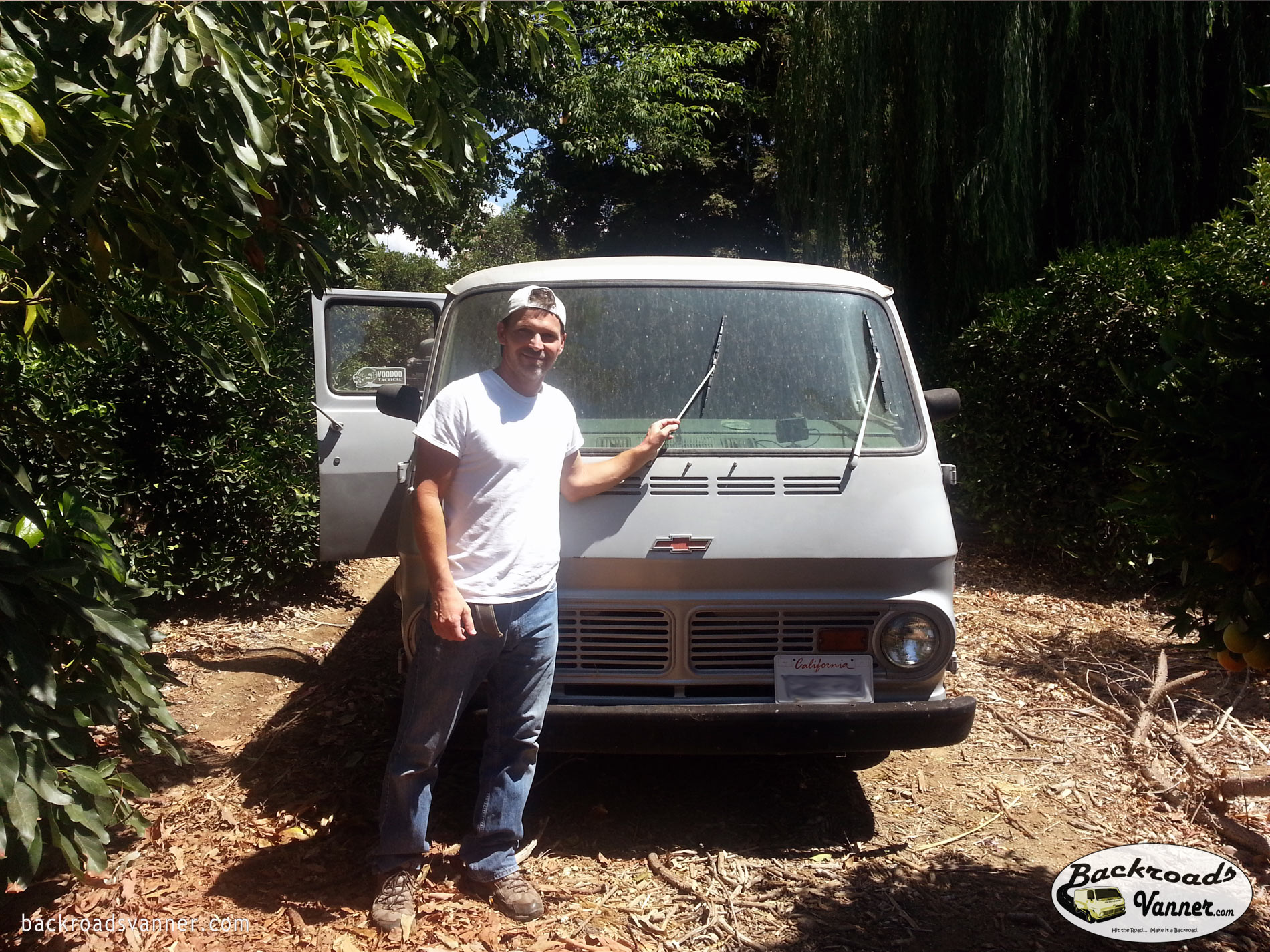 1968 Chevy Van Restoration Project | BackroadsVanner.com