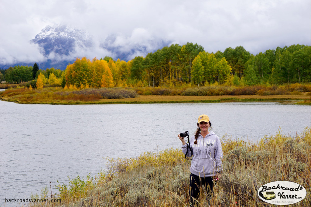 Shannan @ Oxbow Bend | Grand Teton National Park | Photo by BackroadsVanner.com