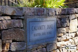 Calamity Jane's Grave Site, Mount Moriah Cemetery, Deadwood, SD | Sept 2015 | Photo by BackroadsVanner.com