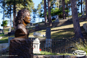 Wild Bill Hickok's Grave Site, Mount Moriah Cemetery, Deadwood, SD | Sept 2015 | Photo by BackroadsVanner.com