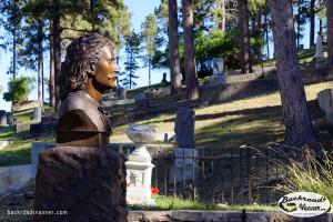 Wild Bill Hickok's Grave Site, Mount Moriah Cemetery, Deadwood, SD | Sept 2015 | Photo by BackroadsVanner.com