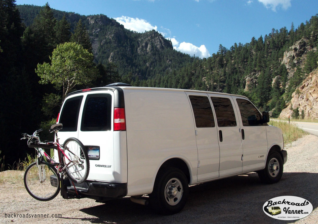Our Van in Colorado   Photo by BackroadsVanner.com