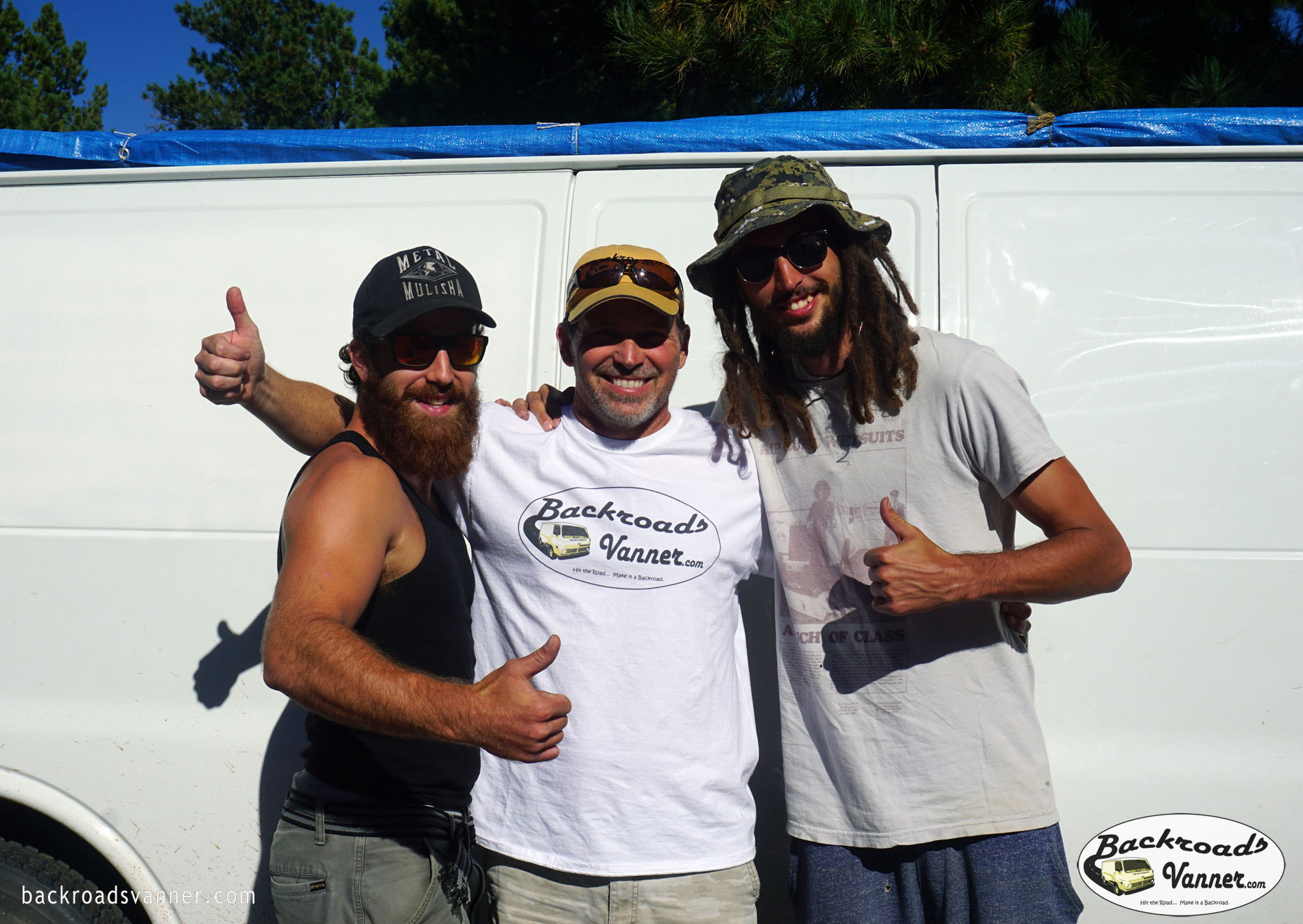 Living & Traveling in a Van To See The USA - Meet Ben & Schoeb from Canada | Photo by BackroadsVanner.com
