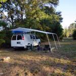 BackroadsVanner.com | Custom Van Canopy Awning System