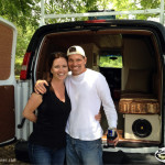 Mike & Shannan with Backroads Vanner