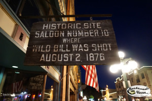 Saloon Number 10, Where Wild Bill Hickok Was Killed, Deadwood, SD | Photo by BackroadsVanner.com