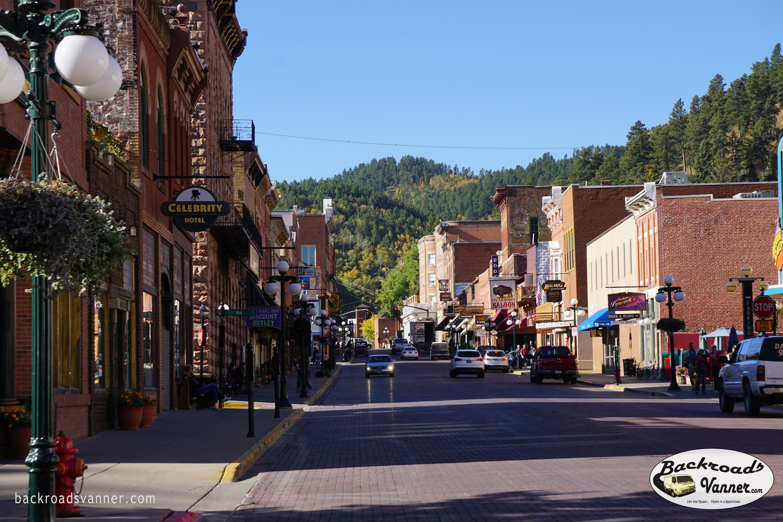Deadwood, SD | Sept 2015 | Photo by BackroadsVanner.com