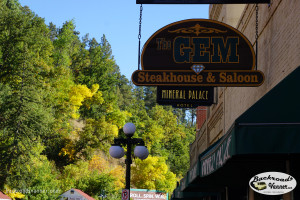 The Gem, one of the oldest bars in Deadwood, SD | Photo by BackroadsVanner.com