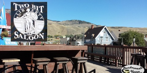 Two Bit Saloon & Grill Restaurant Gardiner, Montana | Photo by BackroadsVanner.com