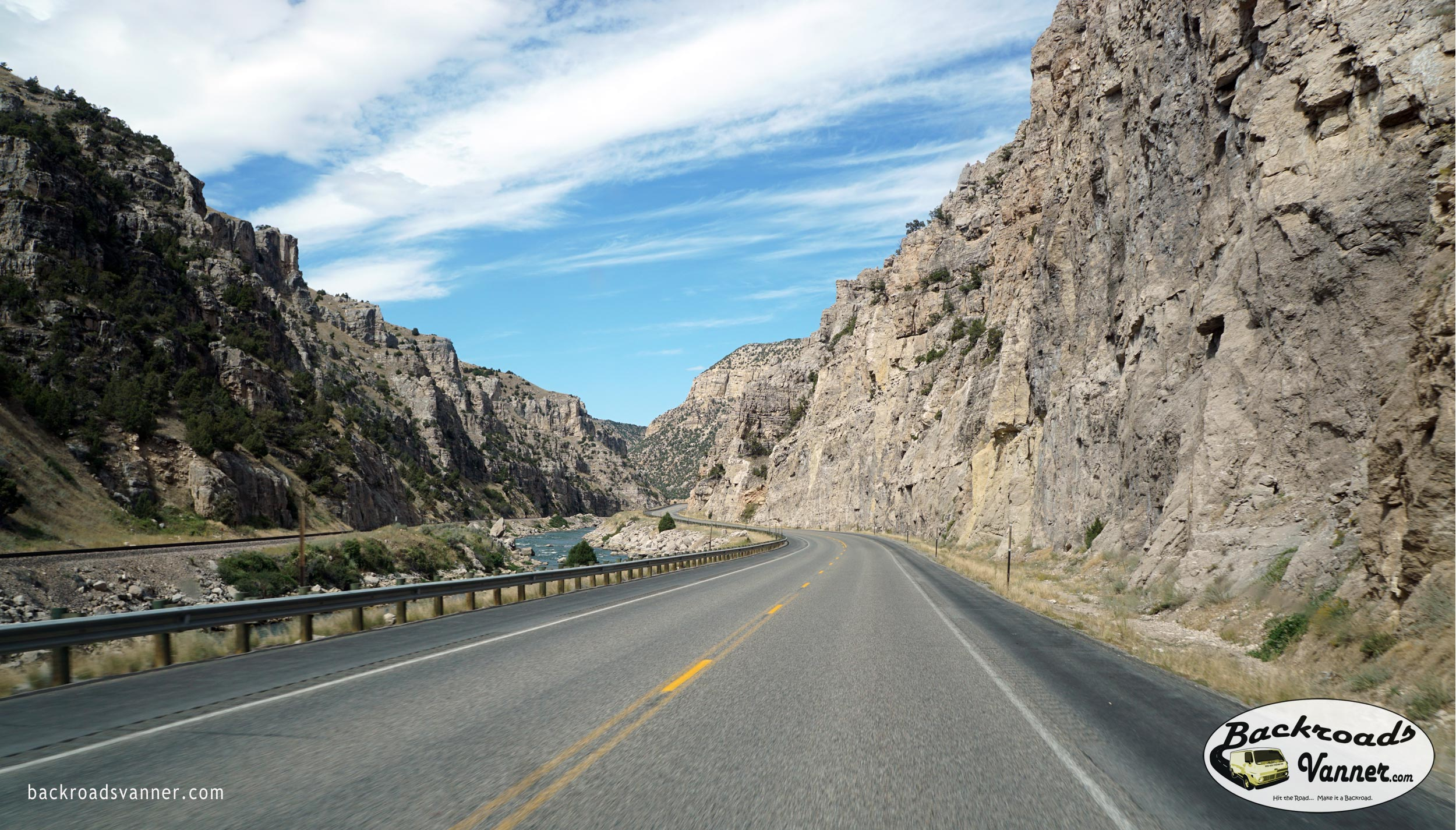 Wind River Canyon Scenic Drive (Wyoming) | BackroadsVanner.com