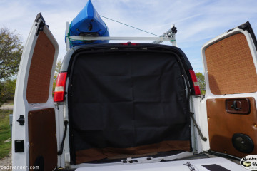 DIY Custom Van Screens created by Backroadsvanner.com
