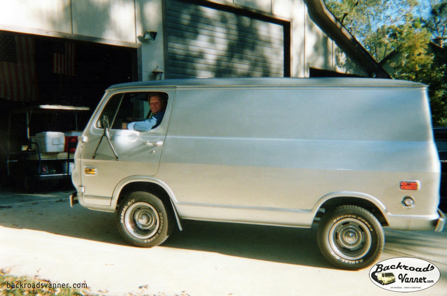 1969 CHEVY CARGO VAN TO RADICAL CUSTOM SHOW