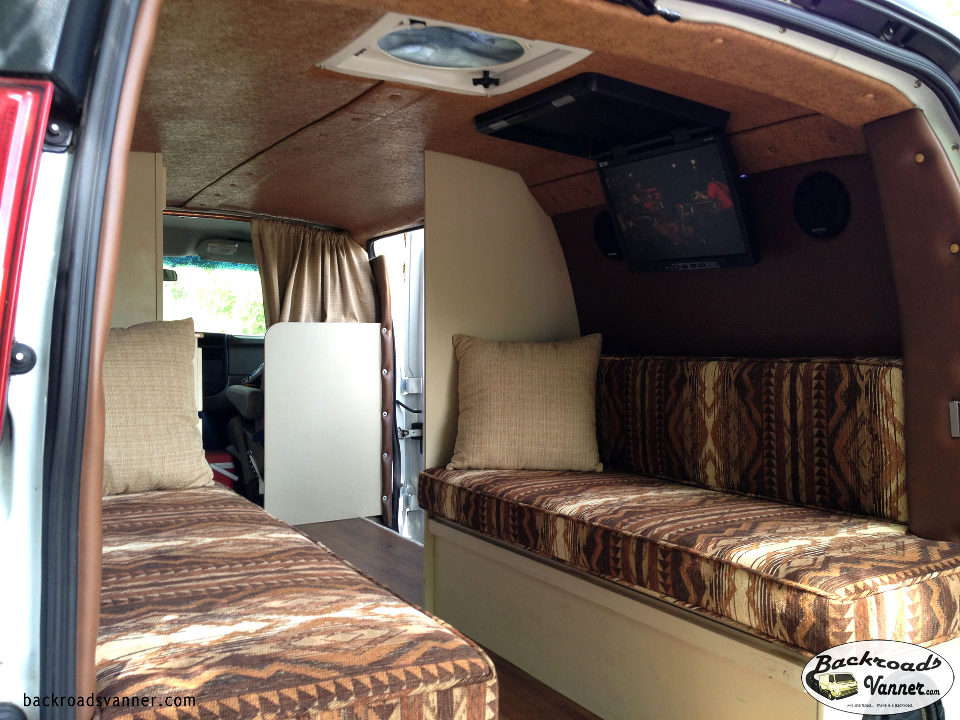Video DIY Custom Camper Van Insulation And Upholstery BackroadsVanner