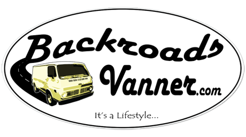 Backroads Vanner Sticker - Set of 3