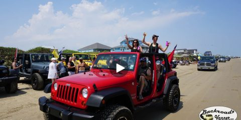 Jeeps Go Topless At The Beach May 2016 - Crystal Beach, TX / Galveston