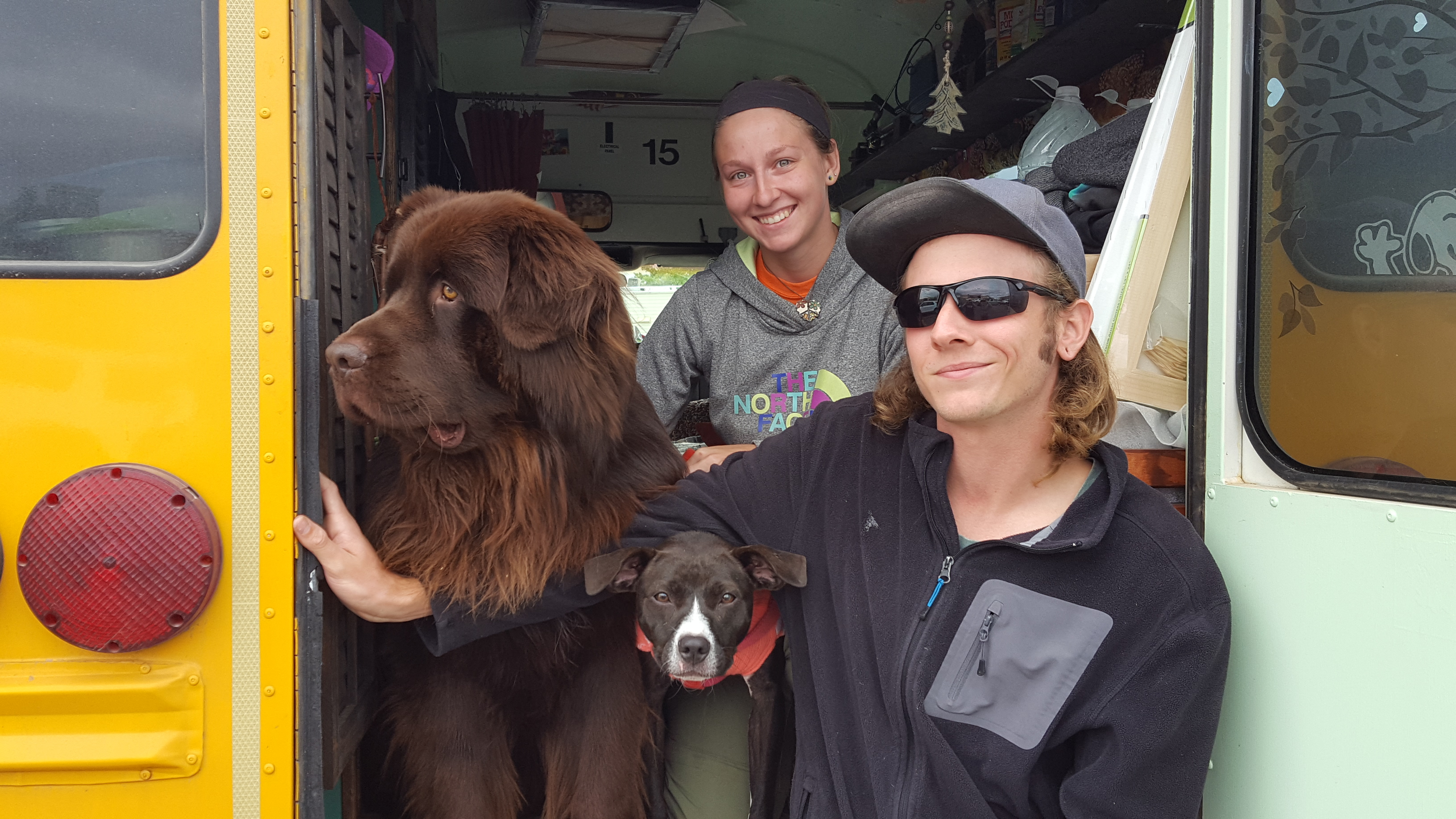 Van Life - School Bus Conversion Tour - Meet Van Dwellers Patrick & Sarah